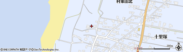 山形県酒田市十里塚高砂子83周辺の地図