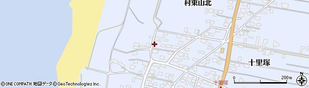 山形県酒田市十里塚高砂子97周辺の地図