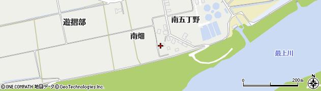 山形県酒田市遊摺部南五丁野427周辺の地図