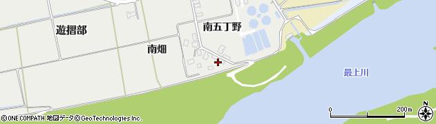 山形県酒田市遊摺部南五丁野431周辺の地図