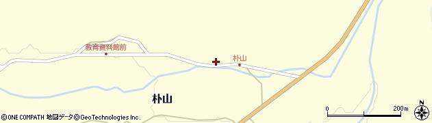 山形県最上郡金山町朴山451周辺の地図
