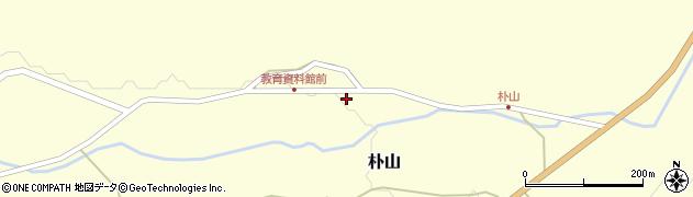 山形県最上郡金山町朴山460周辺の地図