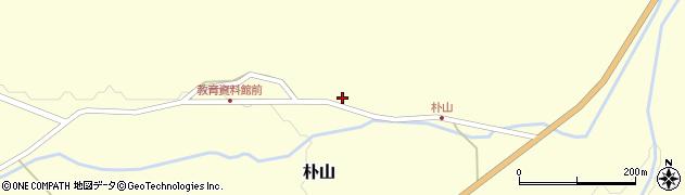 山形県最上郡金山町朴山456周辺の地図