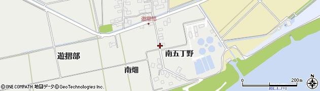 山形県酒田市遊摺部南畑147周辺の地図