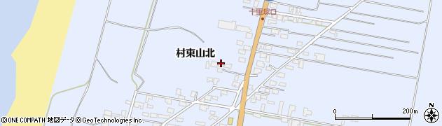 山形県酒田市十里塚村東山北51周辺の地図