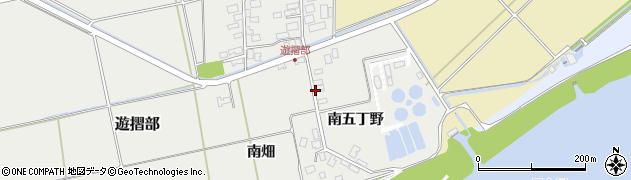 山形県酒田市遊摺部南畑13周辺の地図