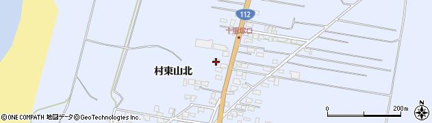 山形県酒田市十里塚村東山北62周辺の地図