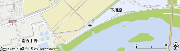 山形県酒田市砂越大野下川原34周辺の地図