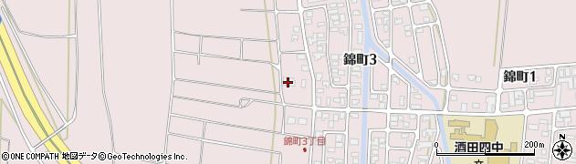 山形県酒田市坂野辺新田東狢山446周辺の地図
