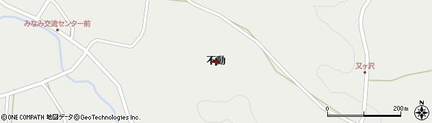 岩手県一関市千厩町小梨(不動)周辺の地図