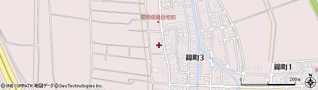 山形県酒田市坂野辺新田東狢山554周辺の地図