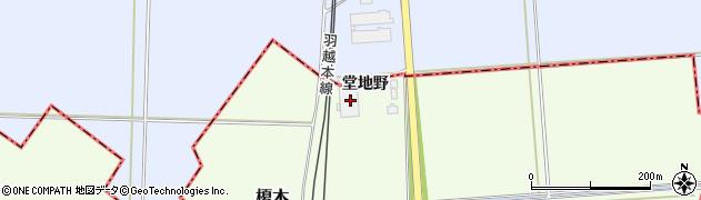 山形県東田川郡庄内町榎木堂地野1周辺の地図