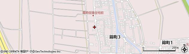 山形県酒田市坂野辺新田東狢山562周辺の地図