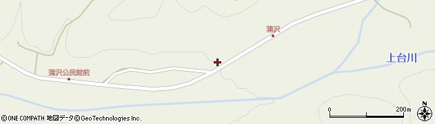 山形県最上郡金山町金山1277周辺の地図