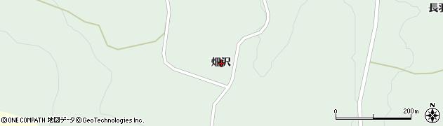 岩手県一関市藤沢町増沢畑沢周辺の地図