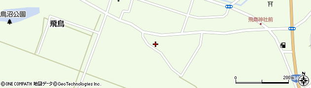 山形県酒田市飛鳥322周辺の地図
