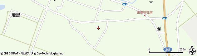 山形県酒田市飛鳥265周辺の地図