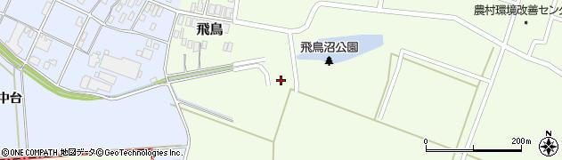 山形県酒田市飛鳥中島426周辺の地図
