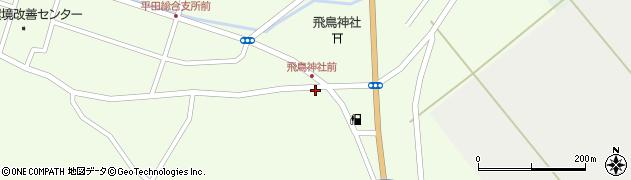 山形県酒田市飛鳥263周辺の地図