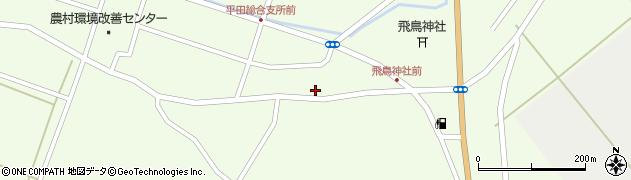 山形県酒田市飛鳥103周辺の地図