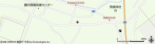 山形県酒田市飛鳥107周辺の地図