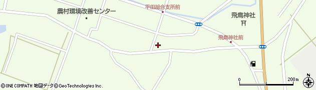 山形県酒田市飛鳥堂之後109周辺の地図