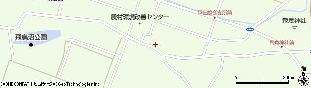 山形県酒田市飛鳥契約場79周辺の地図