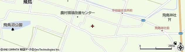 山形県酒田市飛鳥契約場66周辺の地図