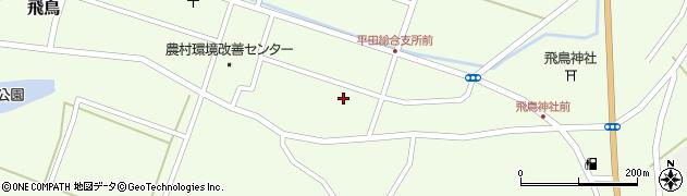 山形県酒田市飛鳥契約場61周辺の地図