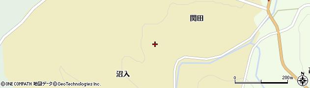 岩手県一関市藤沢町新沼宇名田周辺の地図