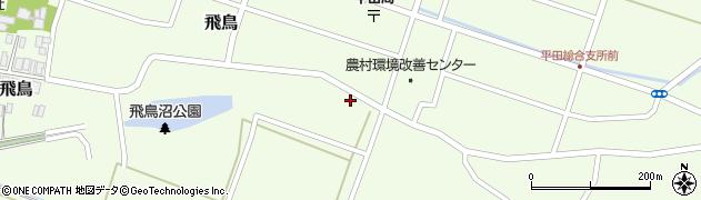 山形県酒田市飛鳥2周辺の地図