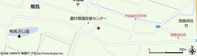 山形県酒田市飛鳥契約場67周辺の地図