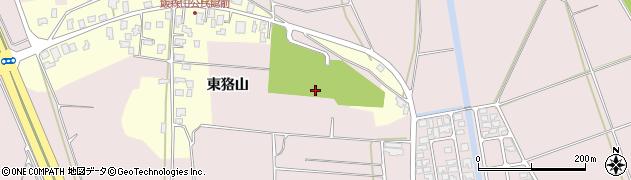 山形県酒田市坂野辺新田東狢山630周辺の地図