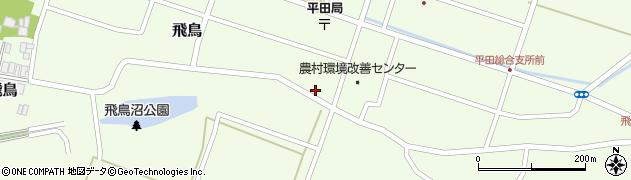 山形県酒田市飛鳥231周辺の地図