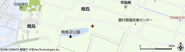 山形県酒田市飛鳥18周辺の地図