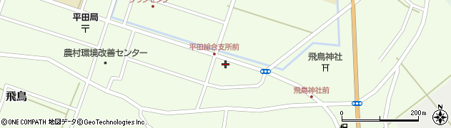 山形県酒田市飛鳥堂之後周辺の地図
