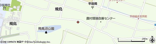 山形県酒田市飛鳥9周辺の地図