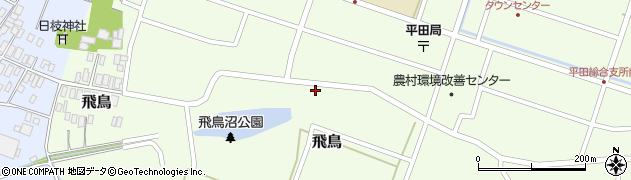山形県酒田市飛鳥17周辺の地図