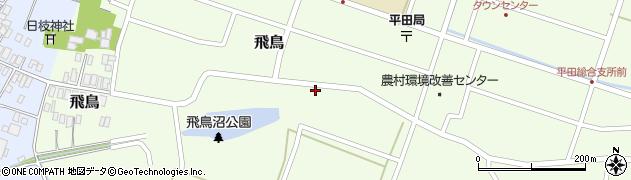 山形県酒田市飛鳥15周辺の地図