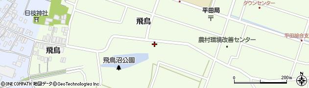 山形県酒田市飛鳥19周辺の地図