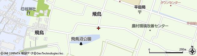 山形県酒田市飛鳥22周辺の地図