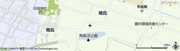 山形県酒田市飛鳥30周辺の地図