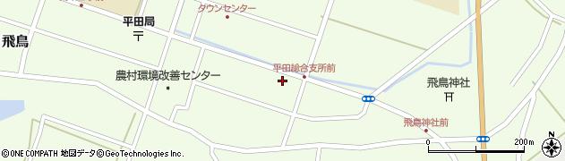 山形県酒田市飛鳥契約場47周辺の地図