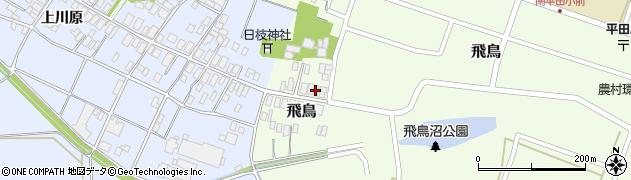 山形県酒田市飛鳥60周辺の地図