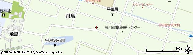 山形県酒田市飛鳥214周辺の地図
