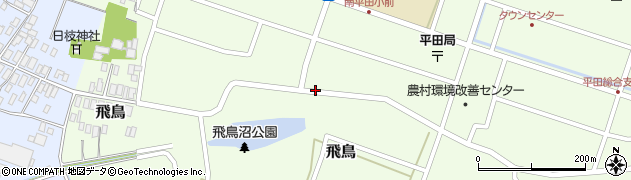 山形県酒田市飛鳥194周辺の地図