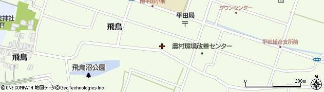 山形県酒田市飛鳥222周辺の地図