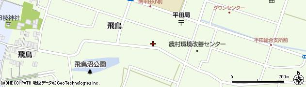 山形県酒田市飛鳥213周辺の地図