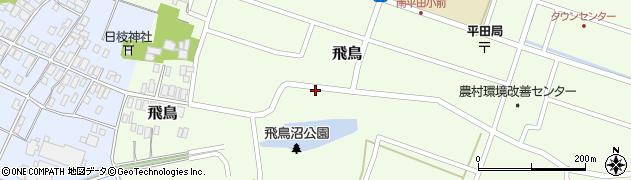 山形県酒田市飛鳥28周辺の地図