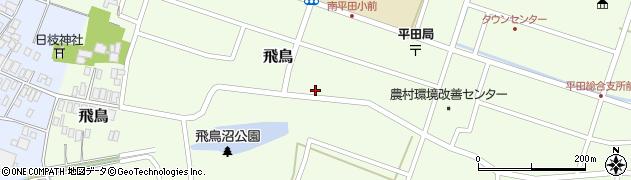 山形県酒田市飛鳥198周辺の地図
